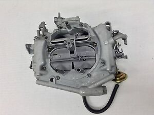 Carter Thermo Quad Carburetor 9058s 1976 Chrysler Dodge Plymouth 440 A 120 Eng