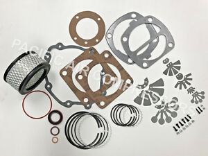 Ingersoll Rand Model 2475 Type 30 Rebuild Kit Vavles Rings And Gasket Set
