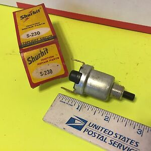 U s And Other Old Car Switch Shurhit S 230 Item 3004
