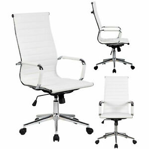 Brown Office Executive Chair Task Ergonomic Computer Desk Chairs W pu Leather