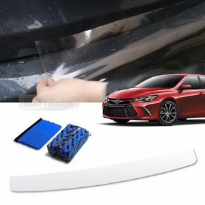 Bumper Anti Scratch Protector Film Spf Scraper Clay Bar For Toyota 15 16 Camry