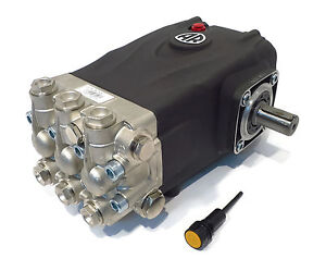 Pressure Washer Pump Replaces Interpump Ws101 4000 Psi 3 96 Gpm Solid Shaft