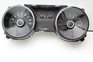 13 14 Ford Mustang Speedometer Head Instrument Cluster Gauges 17 498 P1306