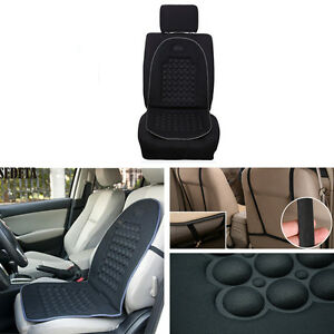 1 Pcs Car Seat Cover Black Pad Magnetic Beads Bubble Foam Chair Padded Massage