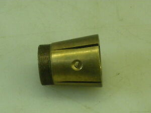 Mikron 79 Bronze Drive Spindle Bushing See Description For Dimensions