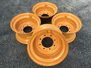 4 16 5x9 75x8 Skid Steer Wheel rim For Case For12 16 5 1845c D136530 Replacement