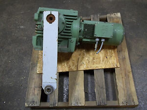 Sew eurodrive Electric Motor Gear Reduction 260 460 3 Phase