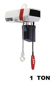 Cmco Coffing Ec Electric Chain Hoist 1 Ton Capacity