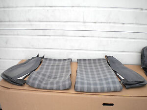 Vw Mk2 Scirocco 16v Plaid Tweed Houndstooth Lower Sport Seat Covers