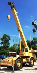 1980 Grove Rt 630 Rough Terrain Crane 30 Ton 1520 Hrs Serial Number 45453