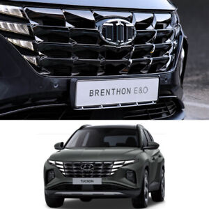 New Brenthon Front rear Emblem 2pc For Hyundai All New Tucson Tl 2016 2018