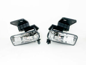 Fog Lights Fits For 99 02 Chevy Silverado 00 06 Suburban Tahoe Clear
