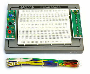 Eisco Labs Bread Board 150 Piece Jumper Wire Set