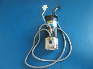 Sanyo Super R 75 V Dc Servo Motor 110w 2 1a R511 012el7 W Optical Shaft Encoder