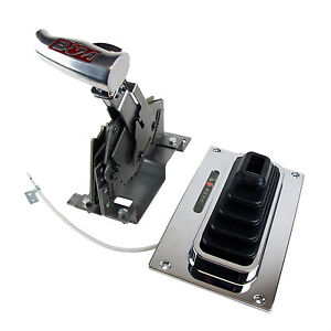 B m 81035 Megashifter Automatic Console Mount Shifter Chevy Ford Mopar Chrysler