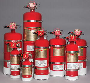 Fireboy Ma20250227 Manual automatic Discharge Fire Extinguisher System 250 Cu Ft