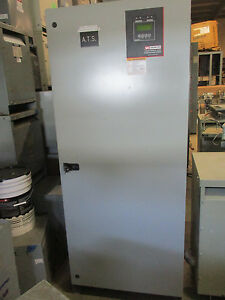 Zenith 600 Amp 277 480 Volt 3 Phase Automatic Transfer Switch Ats237