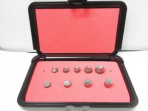 Rivet Squeezer Set 9 Pcs An455 456 Brazier Mod Head W flush Squeezer Sets