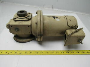 Hub City 186 30 1wr L Worm Gear Reducer 30 1 Ratio W unknown Electric Motor