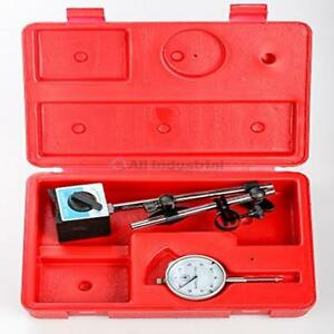 Dial Indicator Set With On off Magnetic Base Precision Measuring Set up