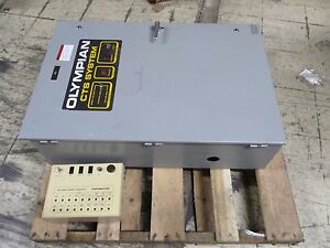 Olympian generac Cts System Automatic Transfer Switch 96a05436 w 100a Used