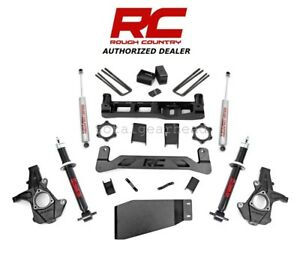 2007 13 Chevrolet Gmc 1500 4wd 5 Rough Country Lift Kit W n2 0 Struts 262 23