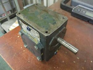 Grove Gear Reducer sp vh218 4 Ratio 20 1 0 814hp In Used