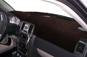 Dodge Charger 2011 2020 Sedona Suede Dash Board Cover Mat Black