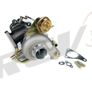 Rev9 Big Td05 16g 7cm Turbo Charger For 02 07 Subaru Wrx Sti Ej20 Ej25 Gc8 380hp