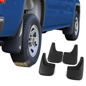 Fits Sierra 1500 Mud Flaps 2014 18 Gmc Mud Guards Splash 4 Piece Front And Rear