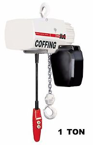 Cmco Coffing Jlc Electric Chain Hoist 1 Ton Capacity