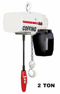 Cmco Coffing Jlc Electric Chain Hoist 2 Ton Capacity