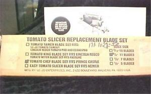 Prince Castle Tomato Slicer Replacement Blades By Le jo Enterprises 4501ed