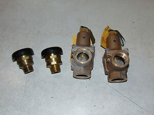2 Watts Pressure Relief Valves And 2 Vacuum Relief Valves 0138460 0275464
