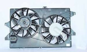 Dual Radiator And Condenser Cooling Fan For 1995 2000 Ford Contour 2 5l V6