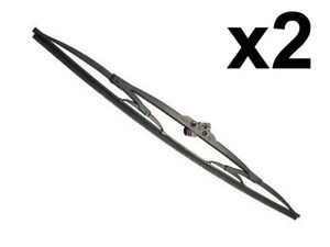Mercedes W123 late Wiper Blade Set x2 20 Bosch Oem Windshield Windscreen