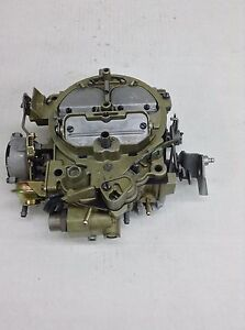 Rochester Quadrajet 17056206 1976 Chevy inc Corvette 350 Engine Auto Trans