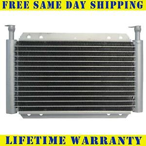 Universal Automatic Transmission Oil Cooler W Mounting Kit Combo Tc1002