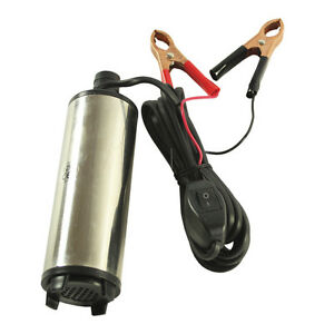 High Quality Dc 12v Submersible Transfer Pump Fuel Diesel Water Oil 30l min