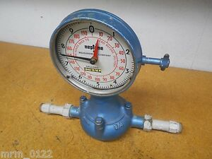 Neptune Measurement Company Water Meter Gallons 3 4 In out