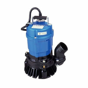 Tsurumi Hs2 4s 53 Gpm 2 Submersible Trash Pump Clean Out Pump Waterfall Pump