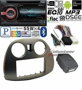 Sony Double Din Cd Player Car Radio Dash Install Mounting Kit Harness Bluetooth