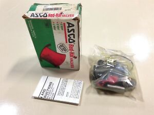 New Asco Red Hat 174038 Valve Rebuild Kit h6