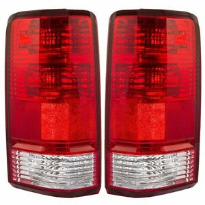 Fits For Dodge Nitro 2007 2008 2009 2010 2011 Rear Tail Lamp Left Right Pair