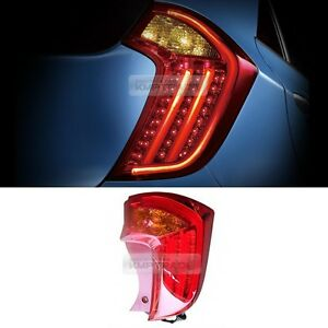 Oem Genuine Parts Rear Trunk Tail Lamp Led Light Rh For Kia 2011 2017 Picanto