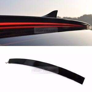 Rear Roof Led Surface Emitting Glass Wing Spoiler For Hyundai 11 16 Elantra Md