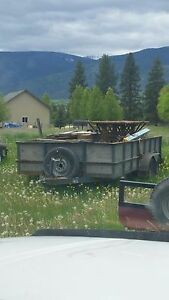 Perfect a Rolling Gear mobile Home Moving Equipment Trailer