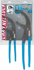 Channellock 2pc Medium Large Oil Filter Plier Set 12 15 5 Of 1
