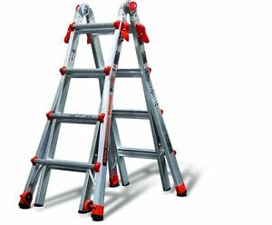Little Giant Ladder 17 ft Aluminum 300 lb Telescoping Type Ia Folding Ladders