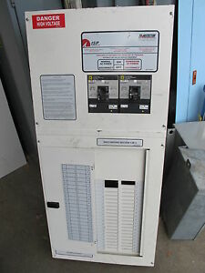 Transtector 200a Generator Transfer Switch Panel Ats109